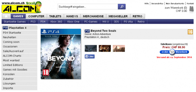 Beyond: Two Souls PlayStation 4 2