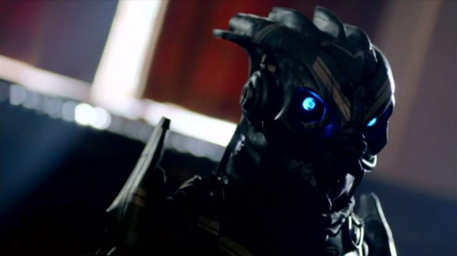 Garrus Doctor Who