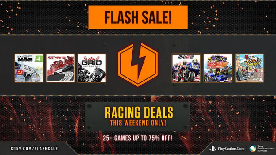 Flash Sale PSN Racing