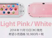 Sony Attempts to Lure The Female Market with a Light Pink PS Vita