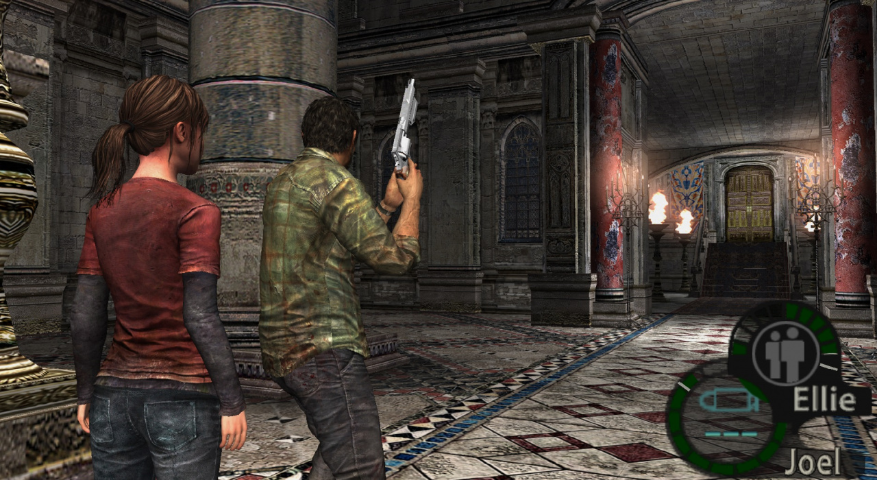 Weirdness What If The Last Of Us Was Really Resident Evil