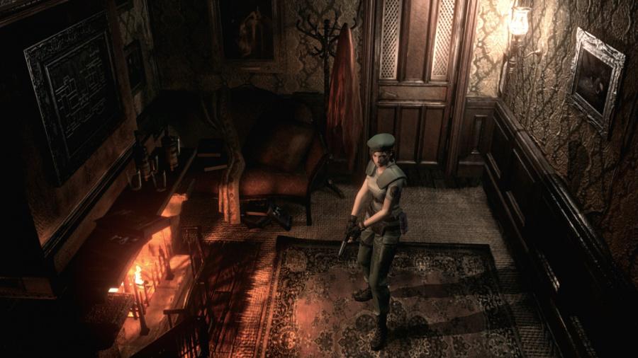 Resident Evil HD Remaster PS4 PS3 PlayStation Tactics 3