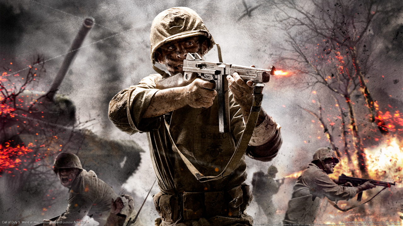 Rumour: Could Call of Duty: World at War II Be Treyarch's Next Title?