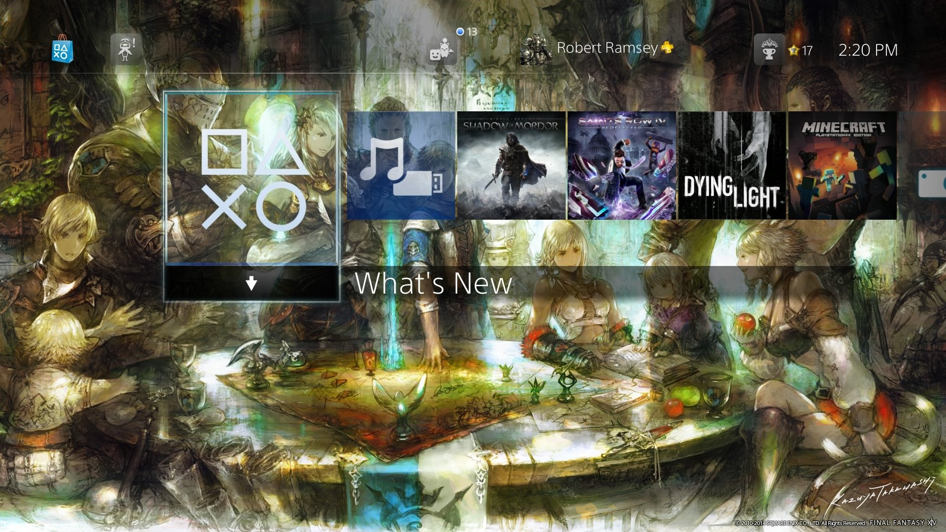 Final Fantasy Xivs Fantastic Ps4 Theme Is Now Available And Free In