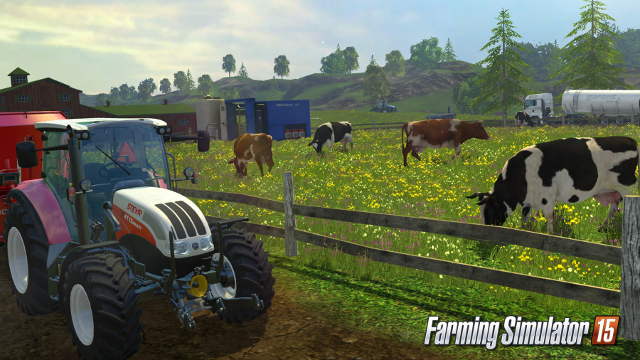 Farming Simulator 15 PlayStation 4 PS4