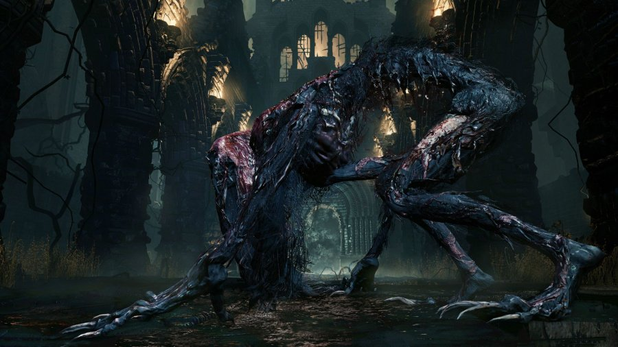 Blood-Starved Beast Bloodborne Boss Guide PS4 PlayStation