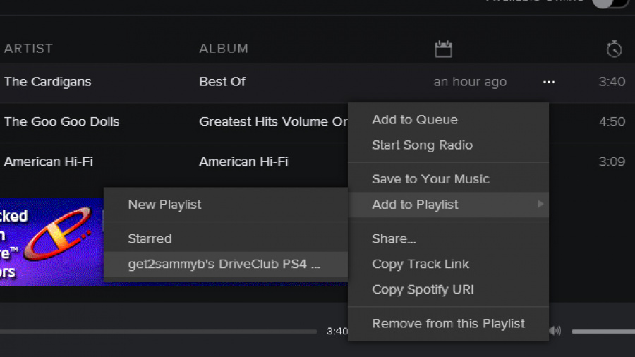how to get spotify on ps4