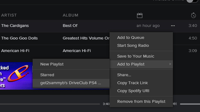 How To Change Spotify Playlist Picture >> How To Create Spotify Playlists For Ps4 Guide Push Square
