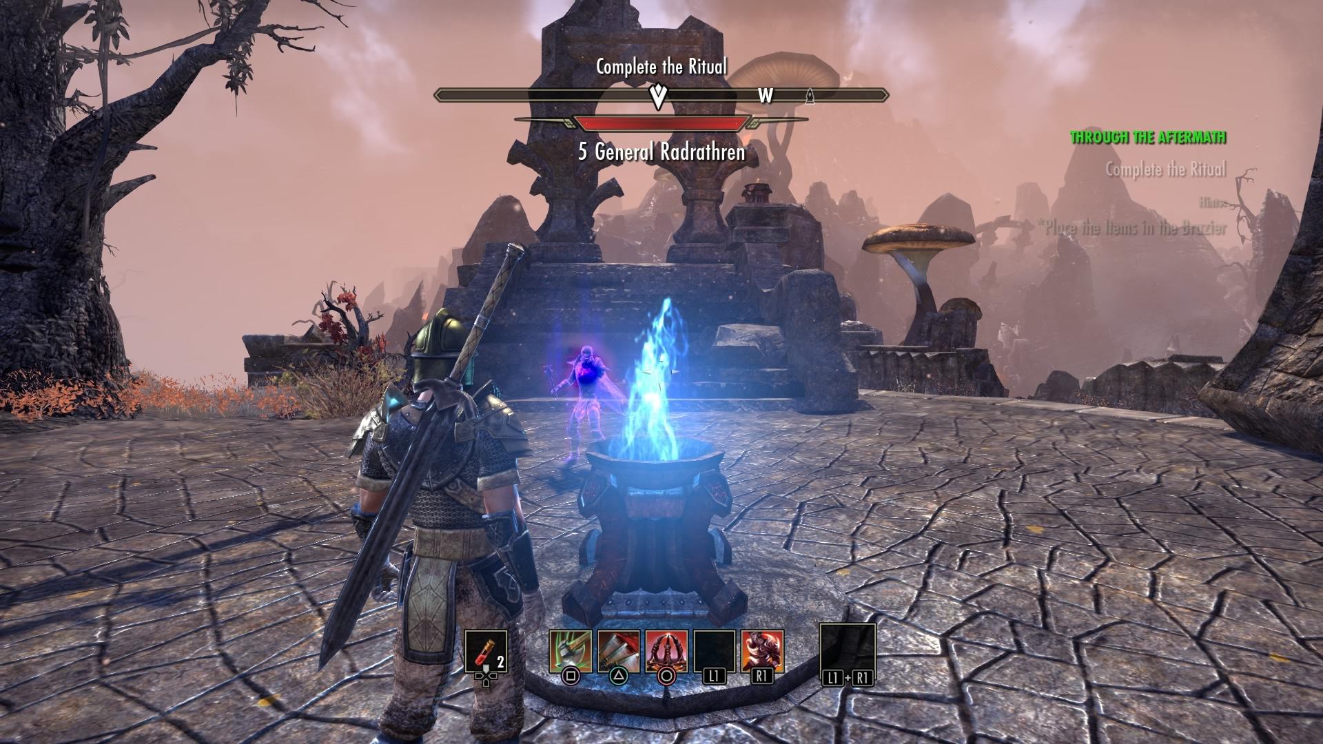 Elder scrolls online ps4 beta date