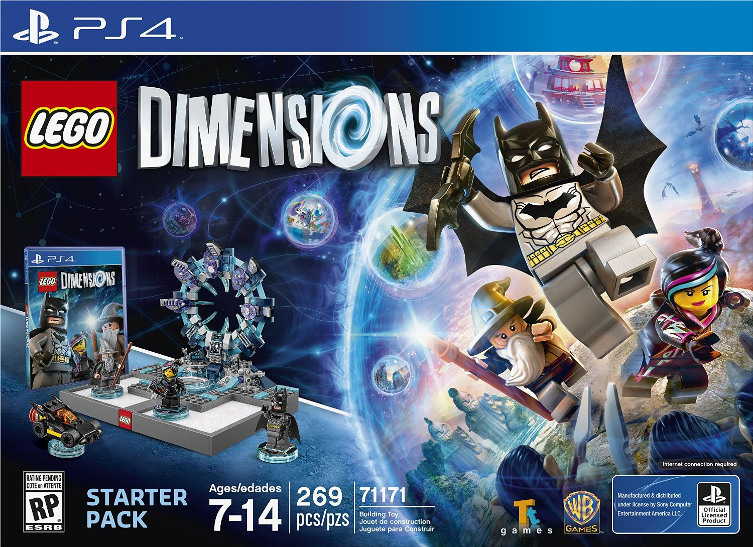 Lego Dimensions Brings Bricks To Life On Ps4 Ps3 Push