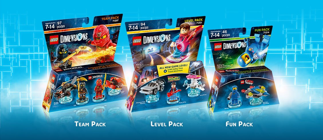 lego dimensions brings bricks to life on ps4 ps3 push. Black Bedroom Furniture Sets. Home Design Ideas