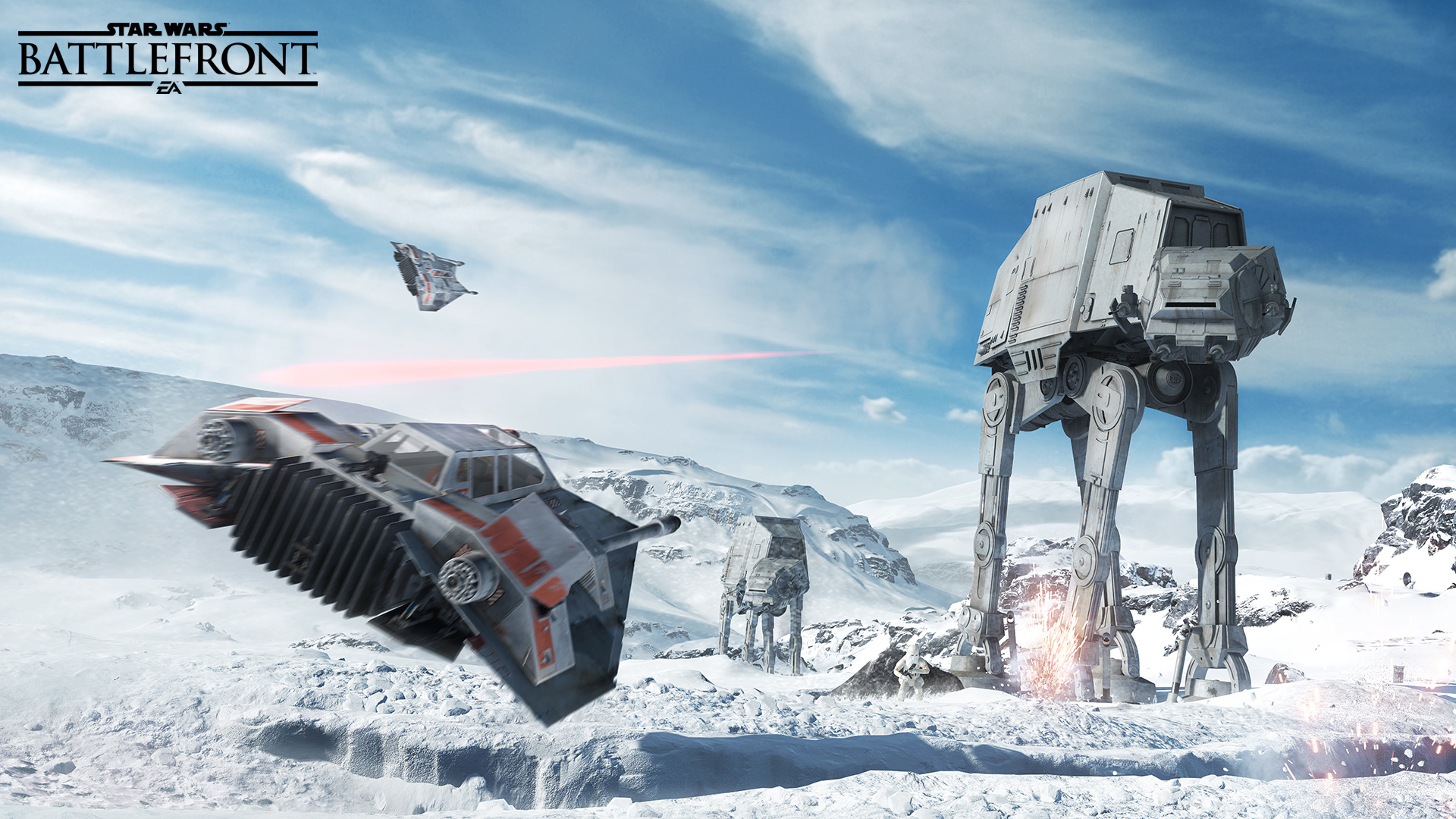 star wars battlefront ps4 screenshots look red hoth push square. Black Bedroom Furniture Sets. Home Design Ideas