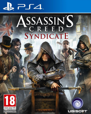 Assassin's Creed Syndicate PS4 Box
