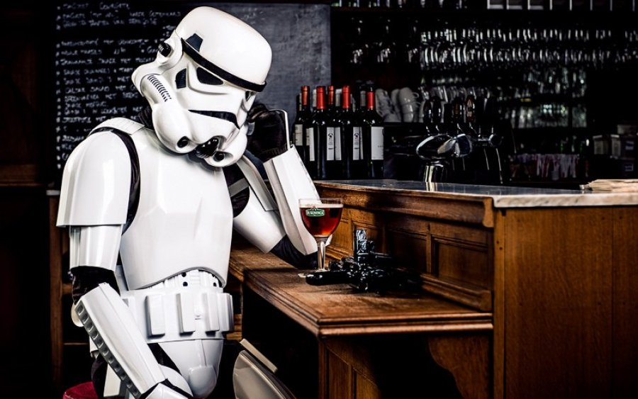 Sad Stormtrooper only has a PS3