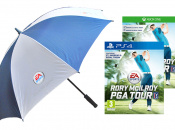 Stand Under Rory McIlroy PGA Tour's Umbrella! 'Ella! 'Ella!