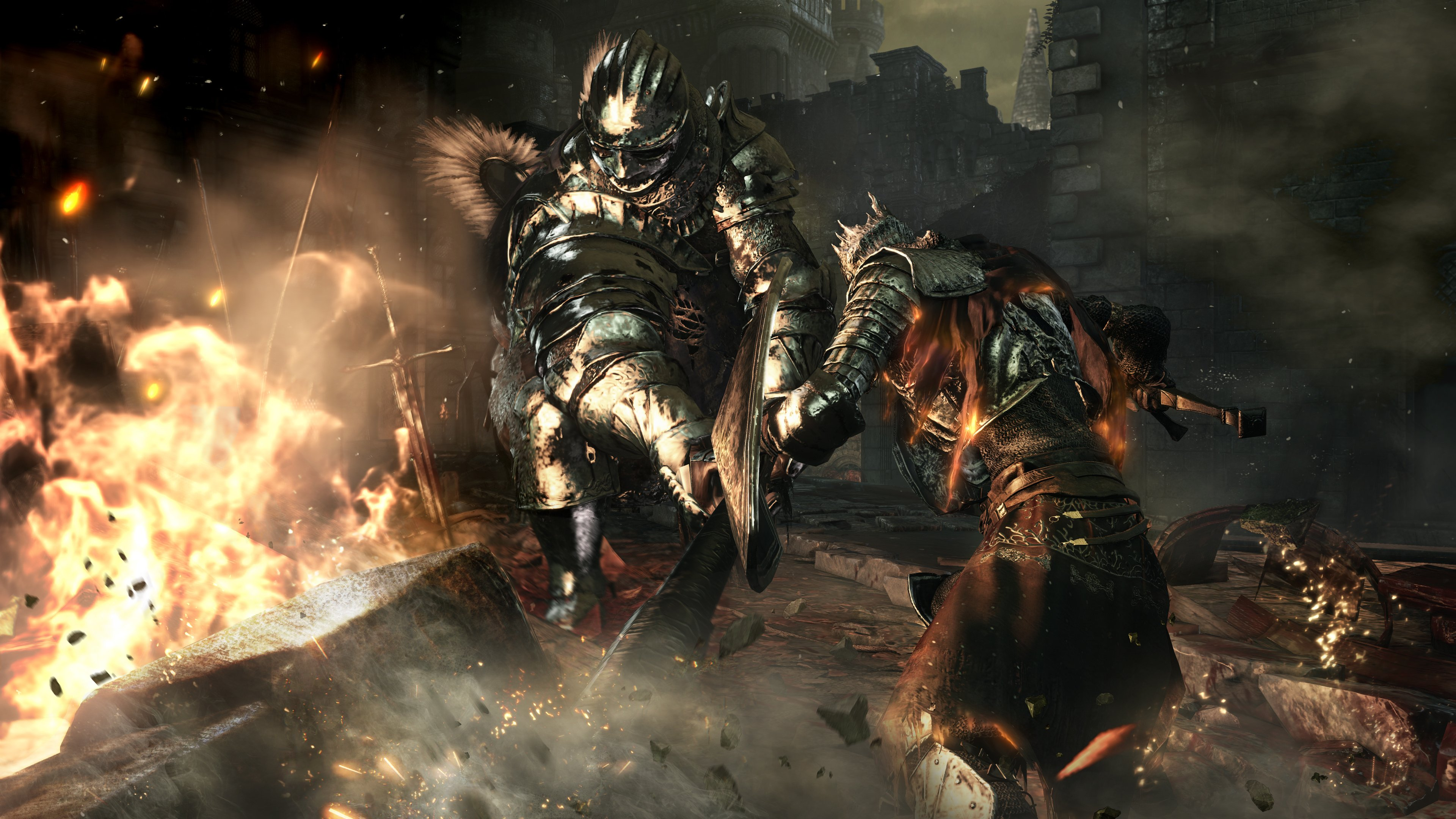 Dark Souls III Has Been Outed And Its Heading To PlayStation 4 Next Year Weve Already Gifted With The Games First Trailer Earlier Today
