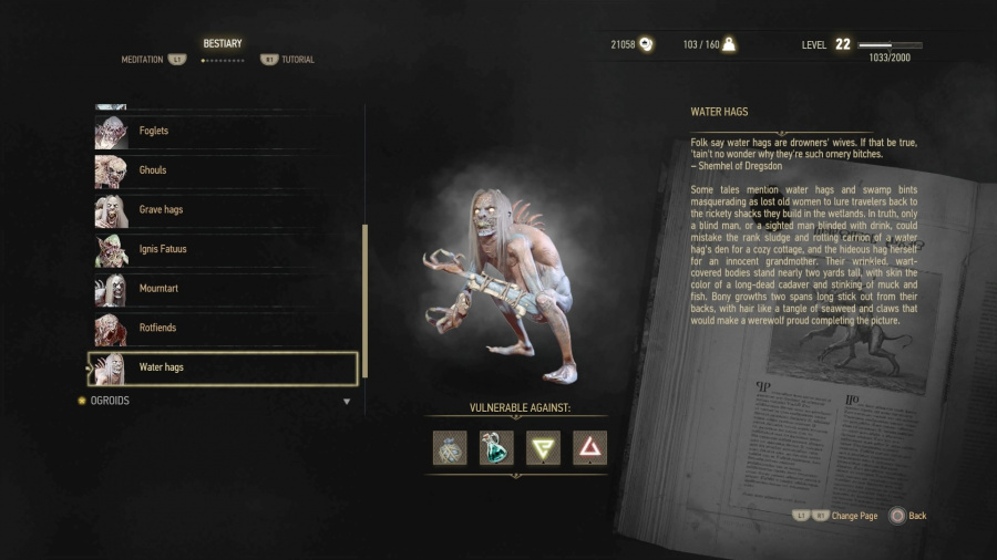 Water Grave Hags The Witcher 3 Wild Hunt PS4 PlayStation 4 Guide