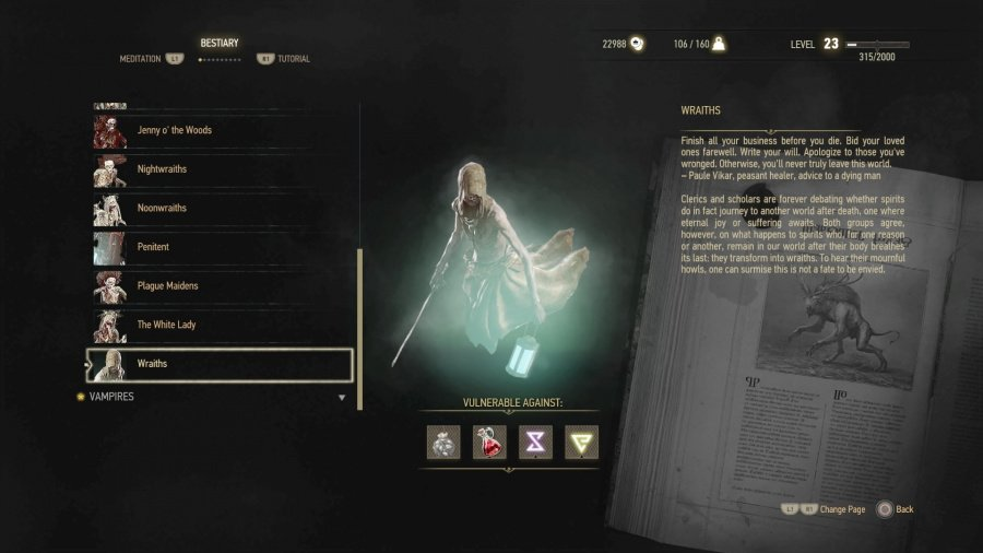Wraith Tactics The Witcher 3 Wild Hunt PS4 PlayStation 4