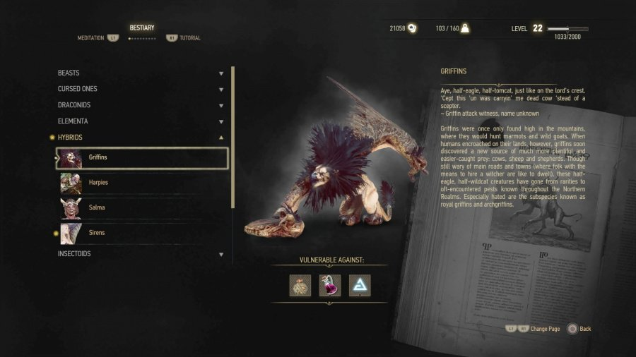 The Witcher 3 PS4 PlayStation 4 Griffins Basilisks Cockatrices Guide