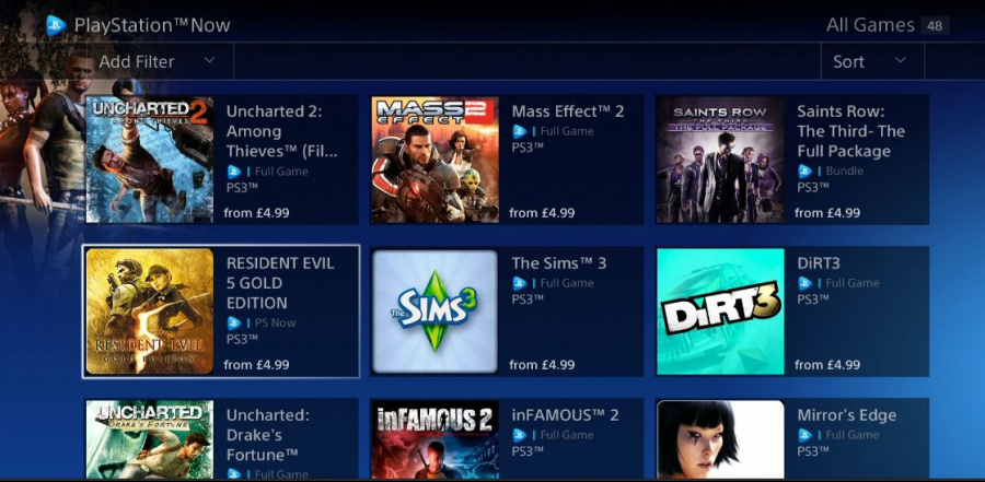 Ps Now Europe