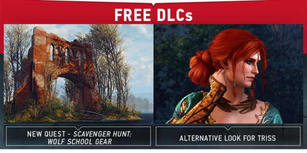 This Week S Free Witcher 3 Dlc Includes A Wolf School Gear