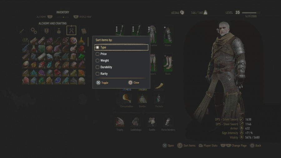 Witcher  What Crafting Components Can I Sell