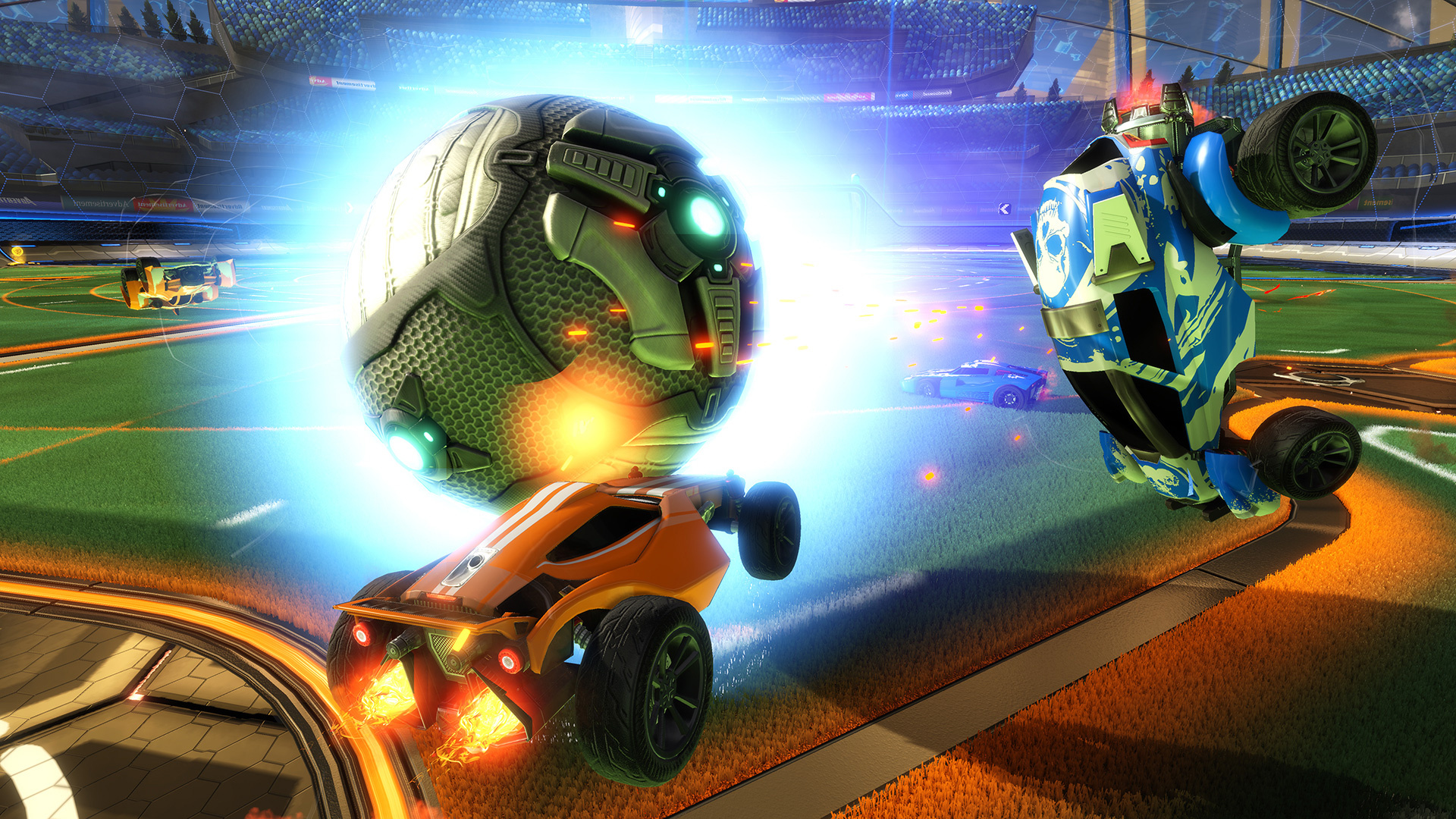How to Play Like a Pro in PS4's Rocket League - Guide - Push