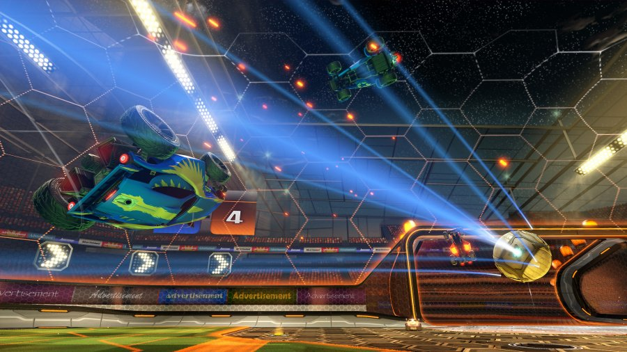 Rocket League PS4 PlayStation 4 How to score