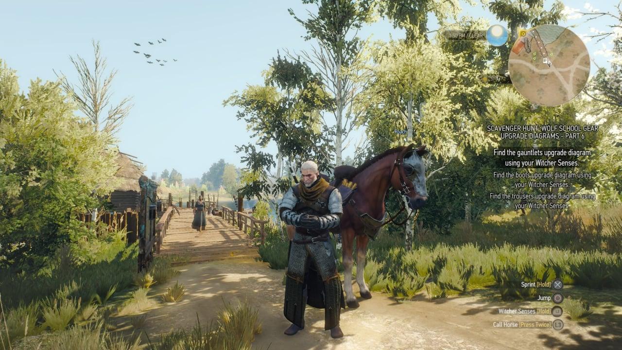 The Witcher 3 - La patch 1.04 è un downgrade per PS4 ...