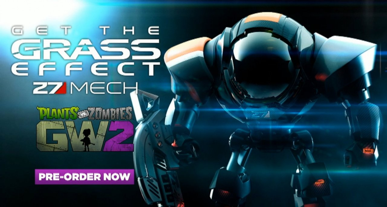 Gamescom 2015 Pre Order Plants Vs Zombies Garden Warfare 2 To Get Your Grass Effect On Push