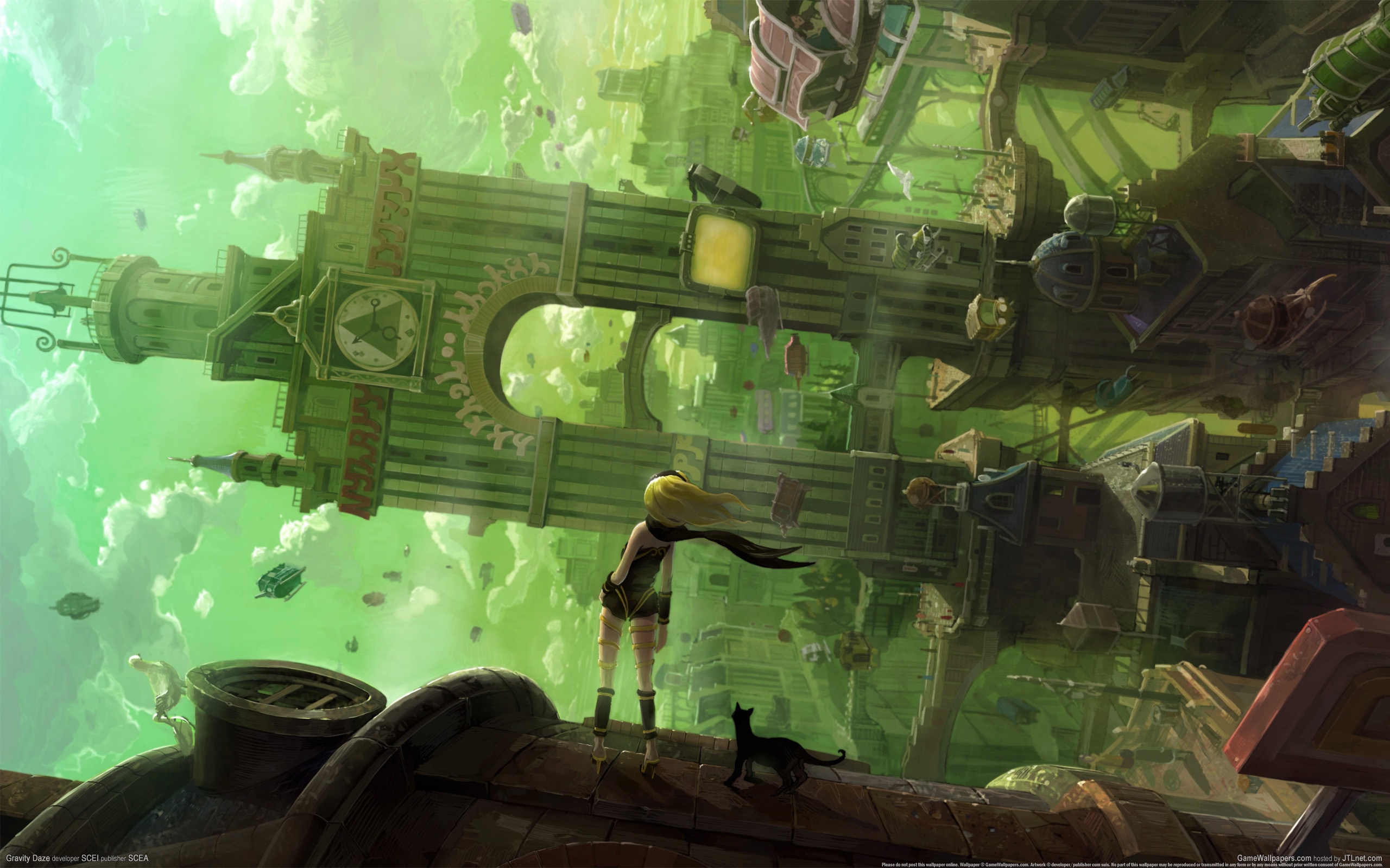 Image result for gravity rush