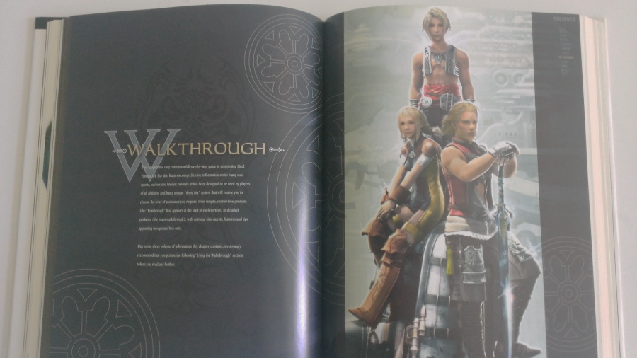 Final Fantasy XII's strategy guide is a work of art