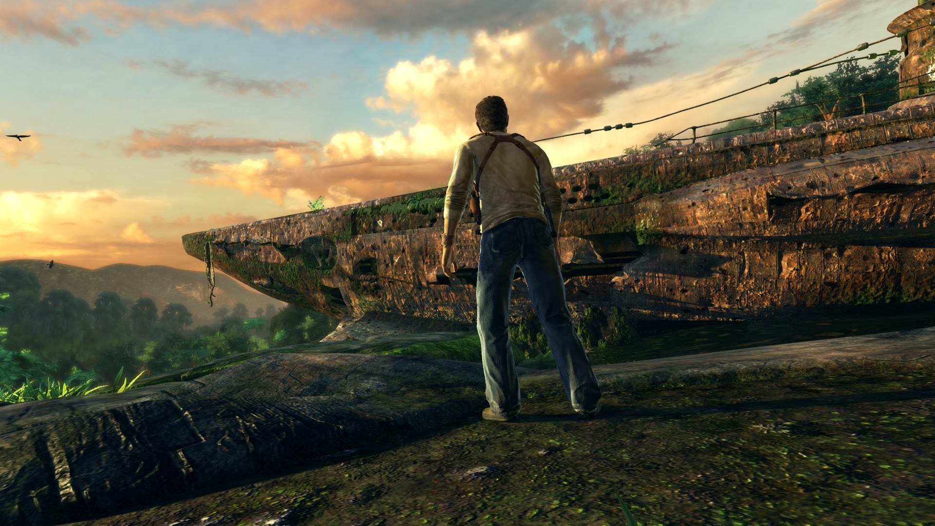 first impressions uncharted the nathan drake collection. Black Bedroom Furniture Sets. Home Design Ideas