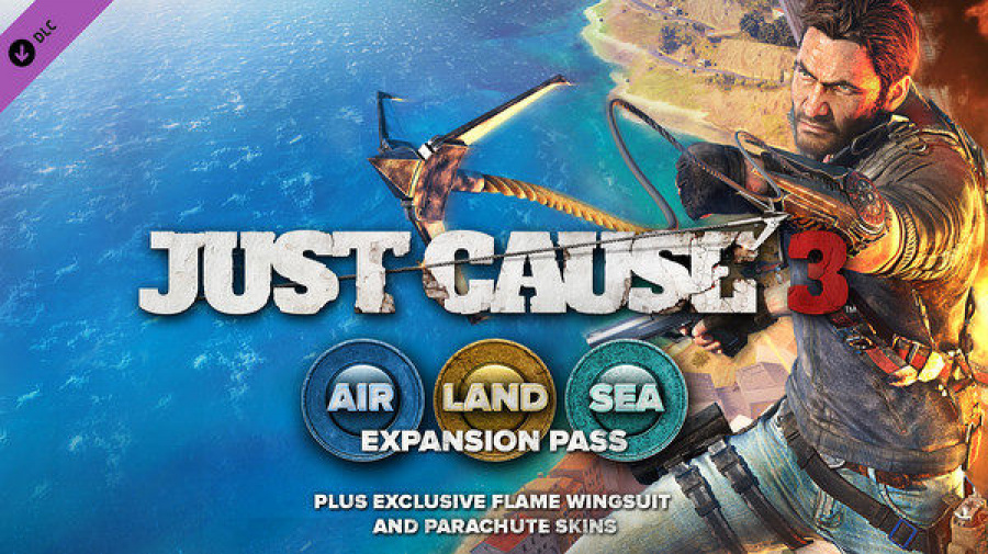 Just Cause 3 PS4 PlayStation 4 Expansion Pass