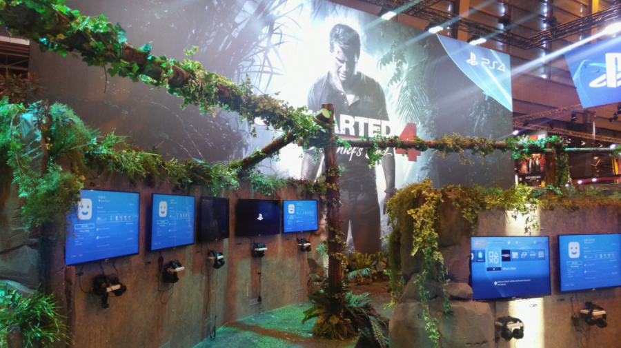 Uncharted 4 A Thief's End PS4 PlayStation 4 Paris Games Week