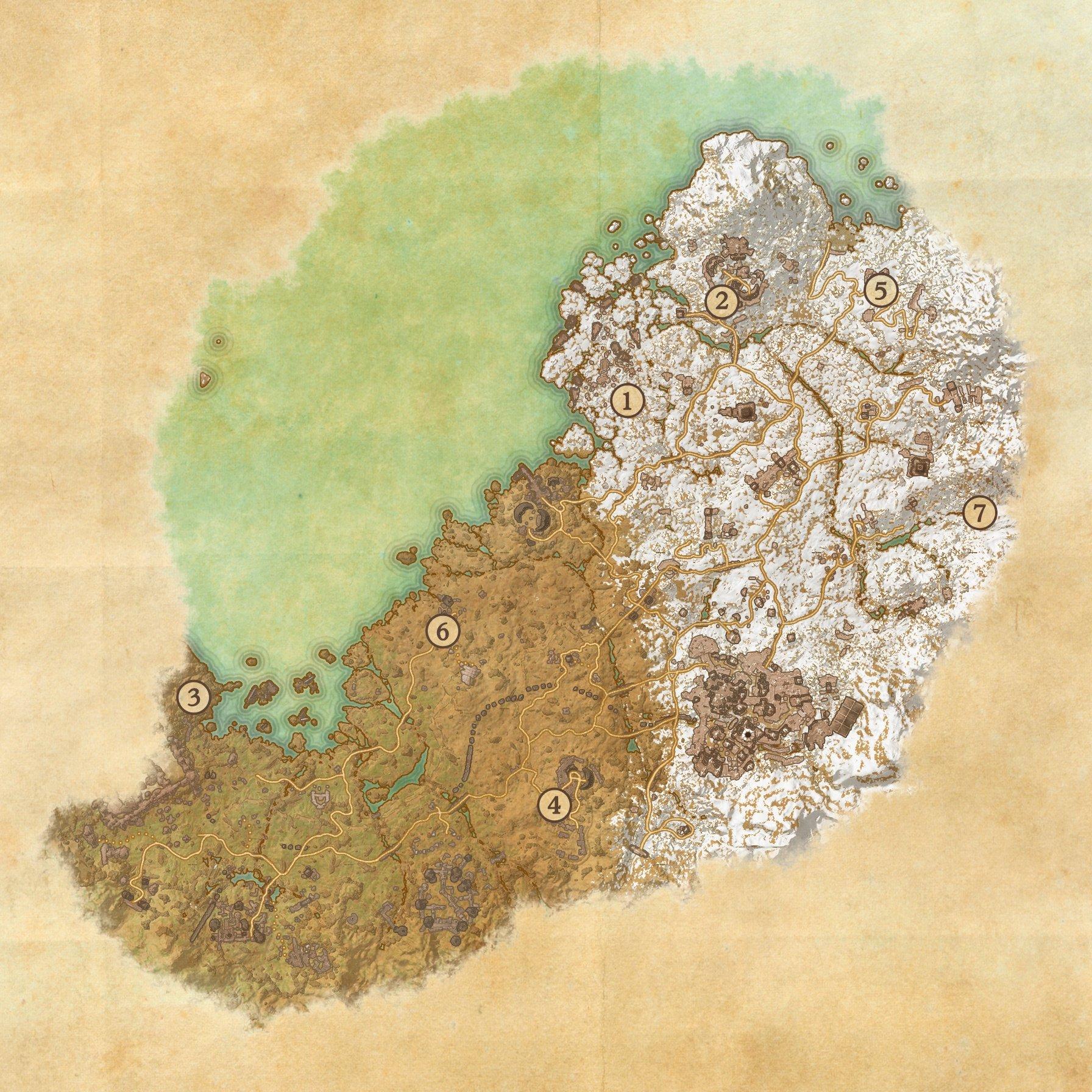 The Elder Scrolls Online Orsinium Map Is Unsurprisingly Mive ... on
