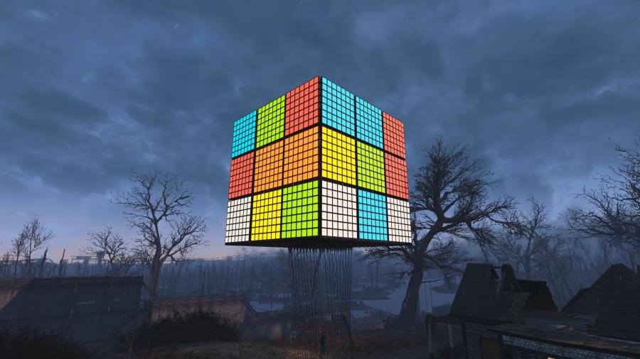 Fallout 4 PS4 PlayStation 4 Rubik's Cube