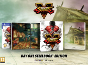 Street Fighter V's PS4 Day One Steelbook Edition Looks Fighting Fit
