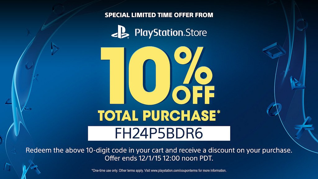 you can get 10 per cent off playstation store purchases with this voucher push square. Black Bedroom Furniture Sets. Home Design Ideas