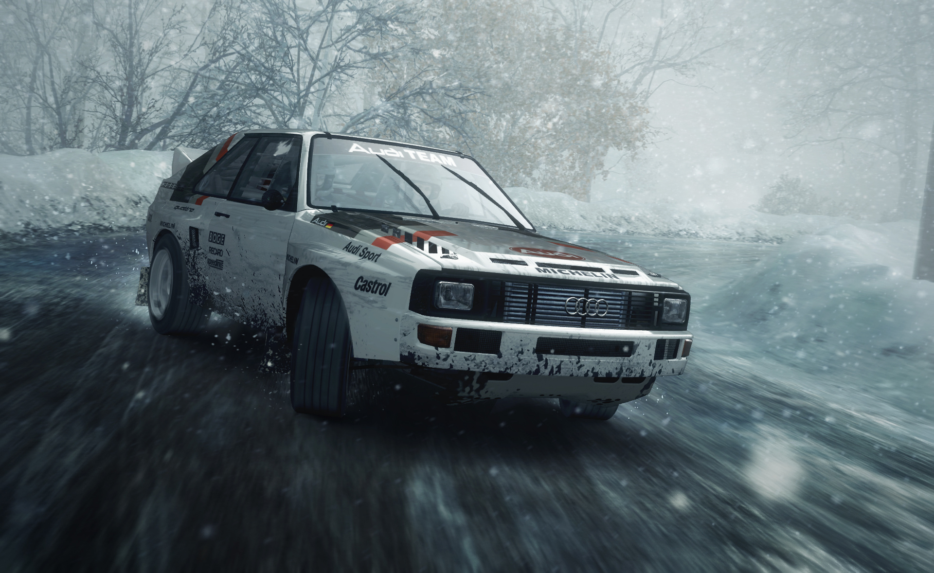 dirt rally takes a long easy left to ps4 in april push square. Black Bedroom Furniture Sets. Home Design Ideas