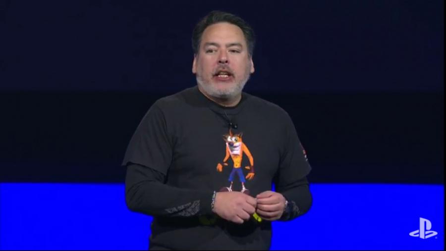 Shawn Layden PS4 PlayStation Experience Crash Bandicoot
