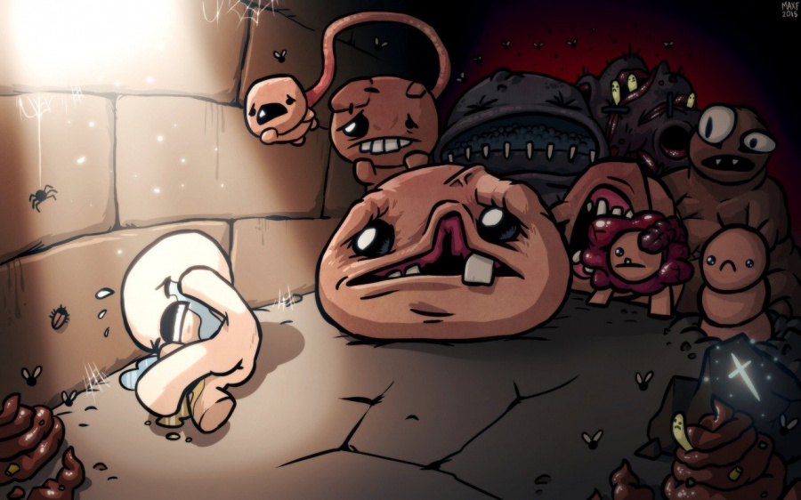 The Binding of Isaac Afterbirth PS4 Vita DLC Dates