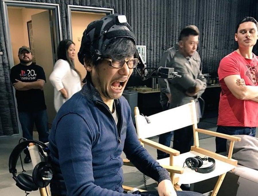 Hideo Kojima PlayStation 4 PS4 1