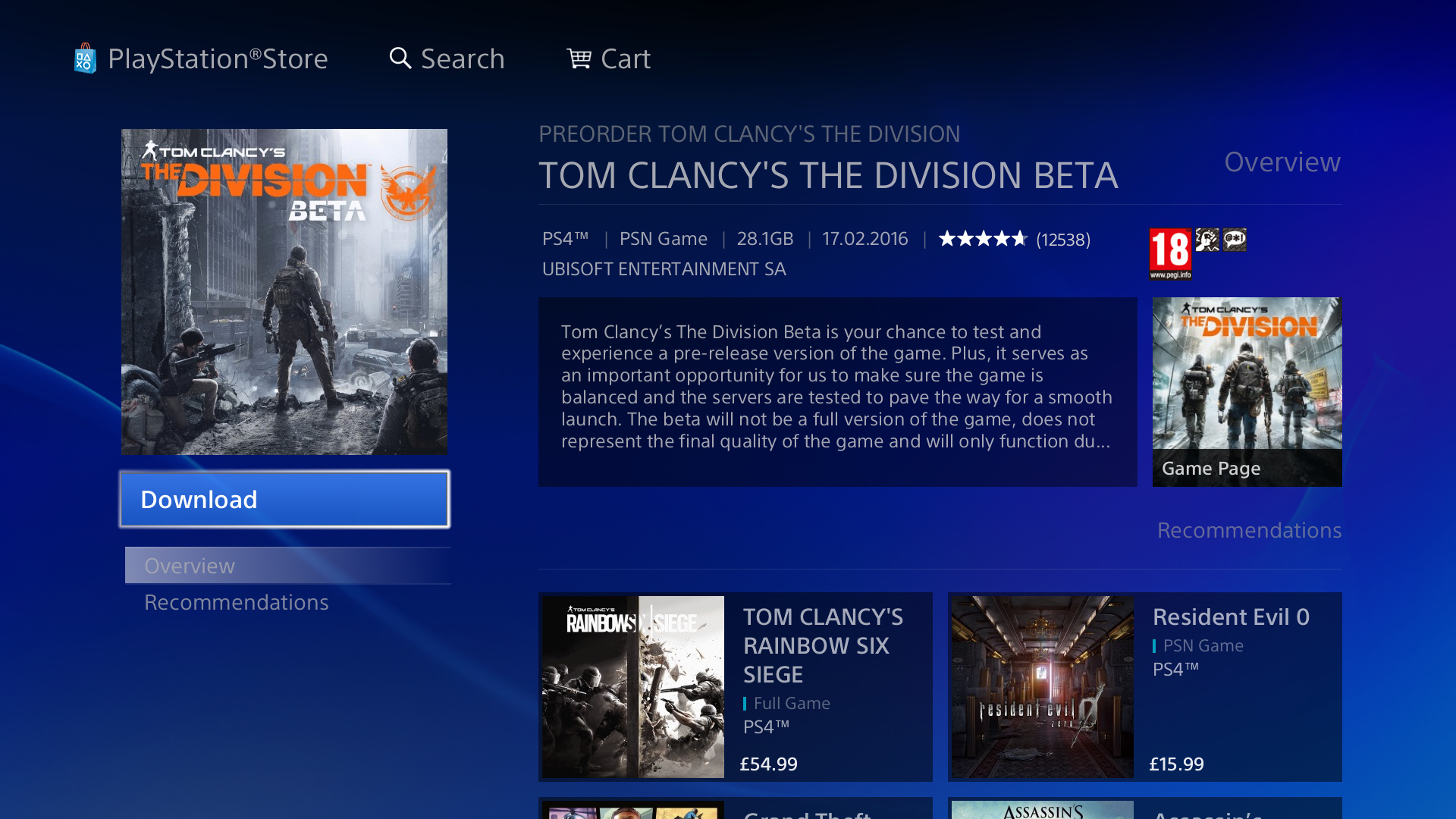 download the division u0027s ps4 open beta right now push square