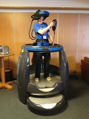 The Virtuality 1000CS pod system