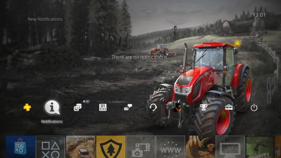 Farming Simulator PS4 Theme PlayStation 4