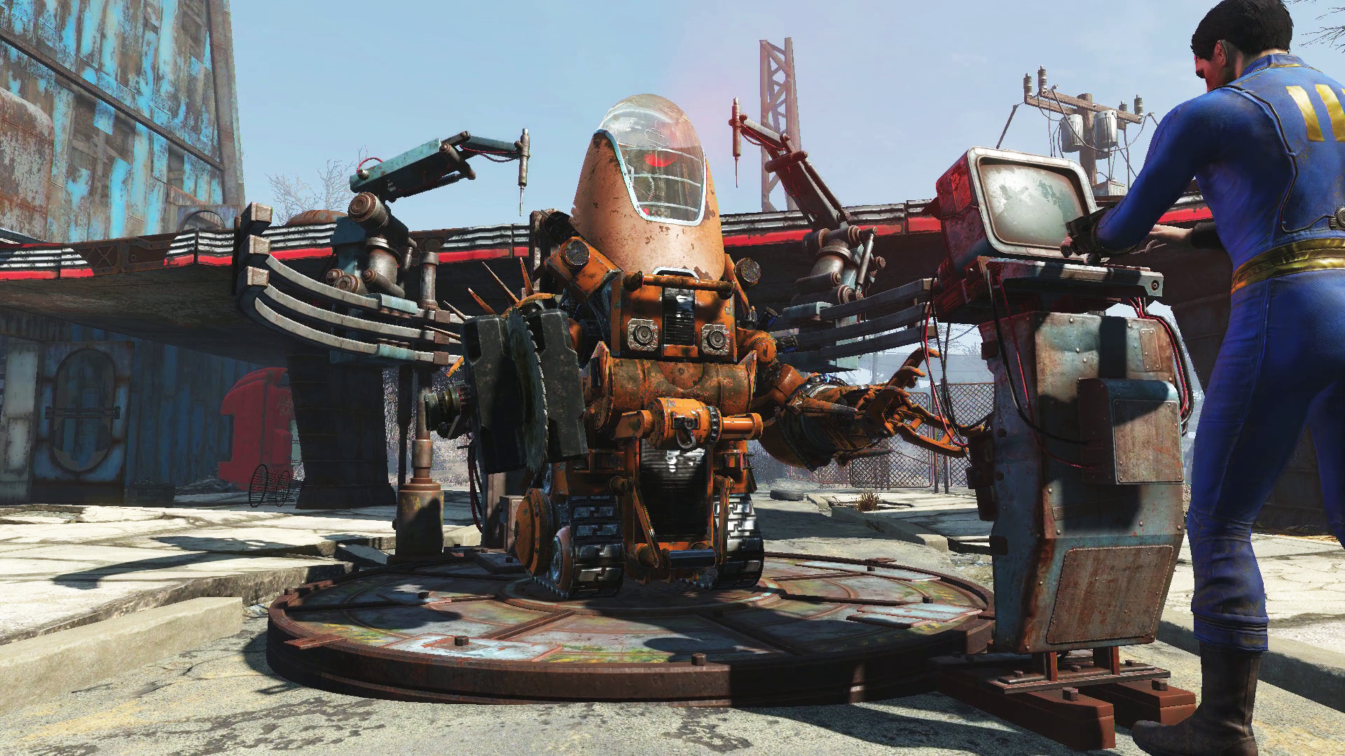 How to build the best robot buddies in fallout 4 for Best house designs fallout 4
