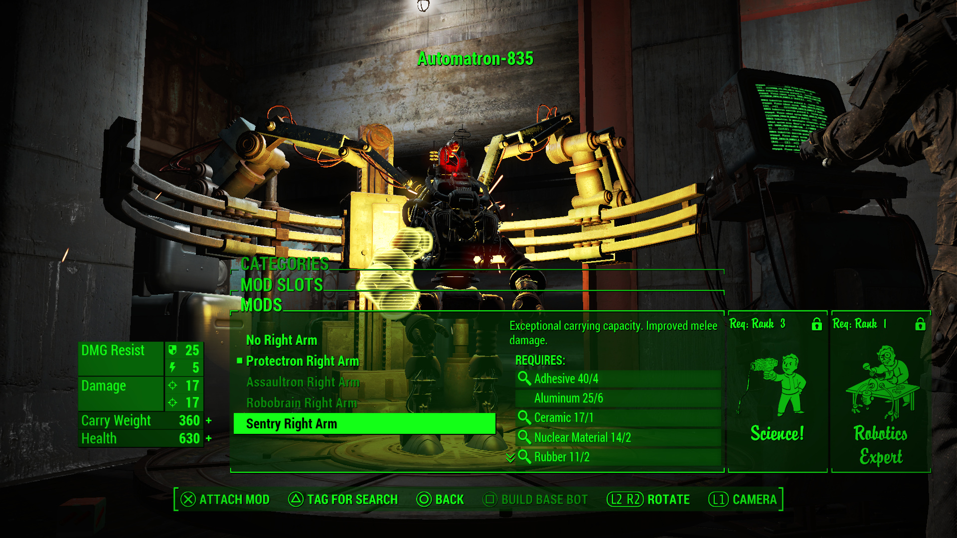 Craft Robot Fallout