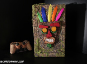 This Custom Crash Bandicoot PS2 Is Pretty Incredible