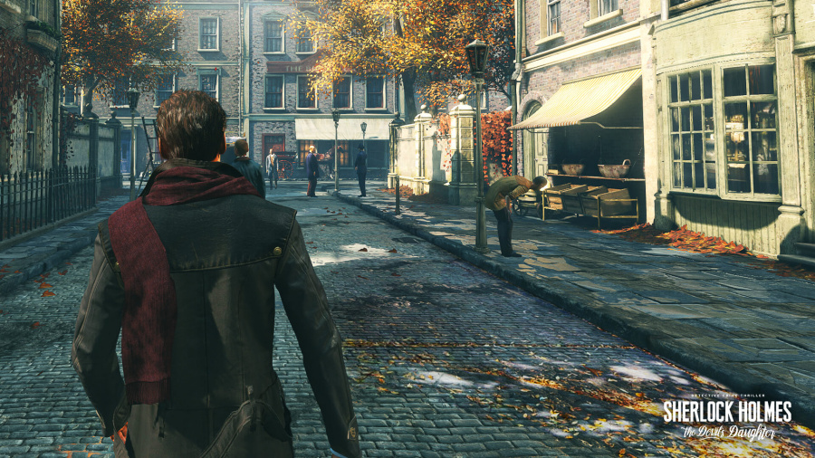 Sherlock Holmes The Devil's Daughter PlayStation 4 PS4